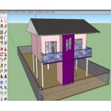 VÍDEO CURSO MODELAGEM 3D COM SKETCHUP - EAD